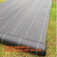 Wholesale 100% pp non woven perforated fabric weed control mat weed barrier anti weed mat,100% pp cover fabric weed control mat we from china suppliers