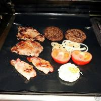 Buy cheap Non-stick heavy duty grill & BBQ mat ,Fit for all hotplate / grill/ BBQ , from wholesalers