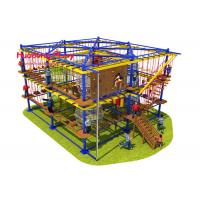 China Mix Color Indoor Adventure Playground Food Grade Plastic Long Life Span for sale