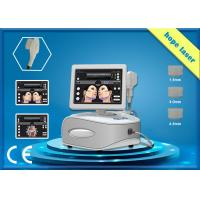 High intensity focused ultrasound HIFU beauty machine face / body slimming for sale