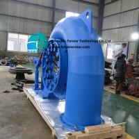 High Pressure Hydraulic Turbine Generator , 3 Phase Axial And Radial Turbines for sale