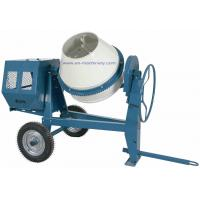 Diesel Electric Motor/Gasoline Portable Mini Concrete Mixer with 260L Charging Capacity