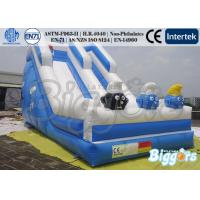Wholesale Green Funny Kids Inflatable Slide Cartoon Toys Jumping Slipping Games from china suppliers