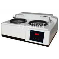 China Stepless Speed 50-600rpm Metallographic Grinding and Polishing Machine with Double Disc for sale