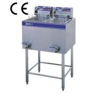 Quality CE Approved Floor Type Electric Fryer (2 tanks & 2 baskets) (HF-85) for sale