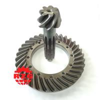 20CrMnTi Skew Hypoid Hypoid Spiral Bevel Gears Ratio 7*34 Transmission System