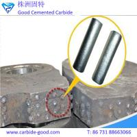 Wholesale TiC-based cemented carbide rods/titanium carbide rods for crusher hammer from china suppliers