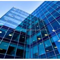 Quality Bulletproof White Tempered Safety Glass Doors And Window Of Building for sale