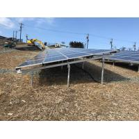 Wholesale Structurally Water Resistant Solar PV Mounting Systems Convenient Set Up from china suppliers