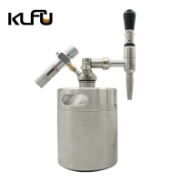 Wholesale Cold Nitro Cartridge Size 6g 10L Draft Beer Keg Set With Tap Dispenser from china suppliers