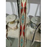 Quality Hot Fix Weave Crystal Trimmings Resin Strip Glass Stones Rhinestone with Weave for sale
