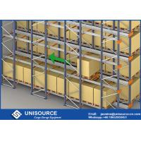Wholesale Selective Cold Storage Radio Shuttle Racking FIFO / FILO For High Density Storage from china suppliers