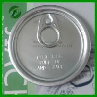 China aluminum easy open end easy open lid on sale