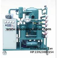 China ZJA Double-Stage Vacuum Transformer Oil and Insulation Oil Purification Plant on sale