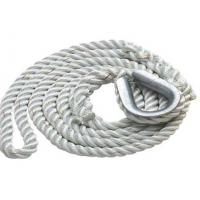 Wholesale 3-strand twisted polypropylene anchor dock line rope code from china suppliers