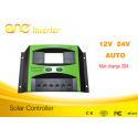 Top one Factory 12v 24v 48v 60v PWM Solar Charger Controller Intelligent Solar for sale