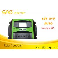 Wholesale Top one Factory 12v 24v 48v 60v PWM Solar Charger Controller Intelligent Solar Controller from china suppliers