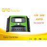 Top one Factory 12v 24v 48v 60v PWM Solar Charger Controller Intelligent Solar Controller for sale