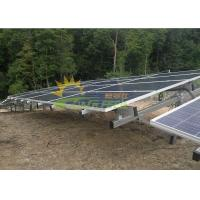 Wholesale Simple Style Solar Panel Racking System Anodizing Thickness 12um from china suppliers