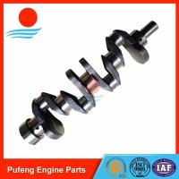 Wholesale forklift crankshaft wholesale, Nissan casting steel crankshaft H25 high hardness and high wear resistance from china suppliers