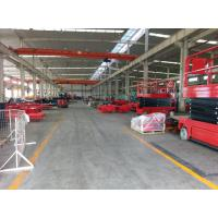 Wholesale 12m working height plataforma elevadora self-propelled scissor lift aerial work platform for construction from china suppliers