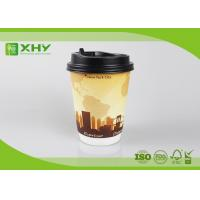 Wholesale 12oz 400ml FDA Certificated Eco-friendly Double Wall Paper Cups with Lids from china suppliers