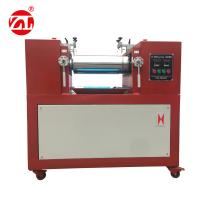 Wholesale Red Color Electronic Heating Lab Two Roll Open Mill Mixing PE PP PVC EVA ABS from china suppliers