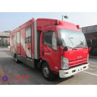 Max Speed 90KM/H Fire Pumper Truck , 4x2 Drive Type Gas Supply Firefighter Truck