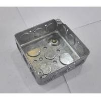 Wholesale American Standard Metal Electrical Boxes And Covers 4x4 52151 / 52161 / 52171 from china suppliers