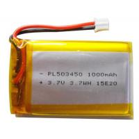 Wholesale Custom Li Polymer Rechargeable Battery / Li Poly Battery Pack 1000mAh For Fishing Equipment from china suppliers