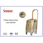 China 1550nm Erbium Yag Laser Glass Fiber Laser Machine for Wrinkle Removal for sale