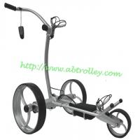 Wholesale G5R remote control golf trolley made of aluminium, lithium battery tubular motors from china suppliers