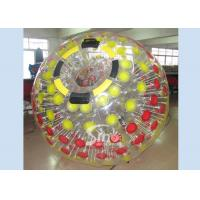 China Mega transparent inflatable zorb ball for childrens and adults roll inside for sale