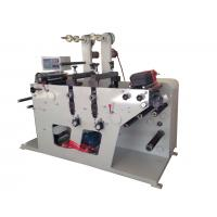 Rotary die cutting machine max width 320mm and with slitting rewinding function or sheeting for sale