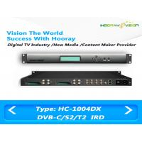 Wholesale Satellite Terrestrial IRD Integrated Receiver Decoder 4 Tunners With 4 CAM Slot Multiplexing from china suppliers