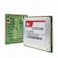 China SIM5320 Dual Band HSDPA/WCDMA and Quad Band GSM/GPRS/EDGE Module, Measures 30 x 30 x 2.9mm on sale