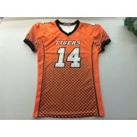 Wholesale V Neck America Football Jersey100% Polyeseter Fabric Anti - Pilling Multi Color Choices from china suppliers