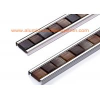 Wholesale Crystal Glass Mosaic Tile Edging/ Outside Corner Metal Frame Finished Edge from china suppliers