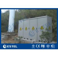 Best Four Compartment Integrated Outdoor Telecom Cabinet , Base Station Cabinet wholesale