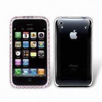 Wholesale Crystal Case for iPhone 3GS, Provides Strong Layer of Protection, Lightweight from china suppliers