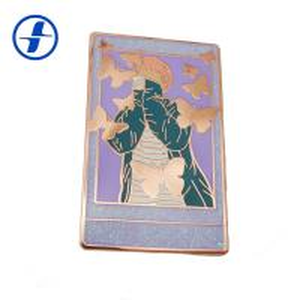 China Metal Plating Hard Enamel Glitter Enamel Pins With Appearance Custom on sale