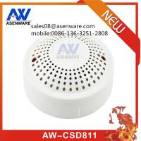 China Asenware conventional smoke fire alarm detector for sale
