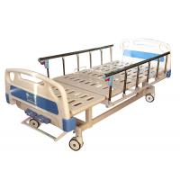 China Stable Manual Hospital Bed , Hospital Equipment Bed Manual Operation on sale