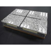 Wholesale Thermal Insulation Fireproof Fiber Cement Board Rock Wool Sandwich Panel from china suppliers