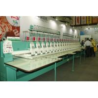 China 22 Heads High speed Embroidery Machines 9 needles 1200RPM for Garment / Curtain / Home textile on sale