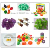 Wholesale A to Z Fruit Jelly Gummy production line Coca Cola Gummy Processing Line 300kg/H from china suppliers