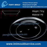 Wholesale 123mm clear disposable plastic dinner plates mould /disposabl plastic picnic plates mould from china suppliers