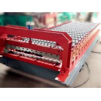 Best Color Steel Roof Panel Roll Forming Machine 12-18 Forming Stations wholesale