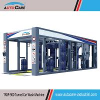 China Fully Automatic Tunnel Car Washing Machine for sales to Malaysia/ Automated Car Washer with Platform Belt Conveyor on sale
