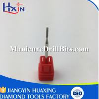 Small Cylinder Type Natural Nail Bit Smooth Polishing With Diameter 1.5mm
